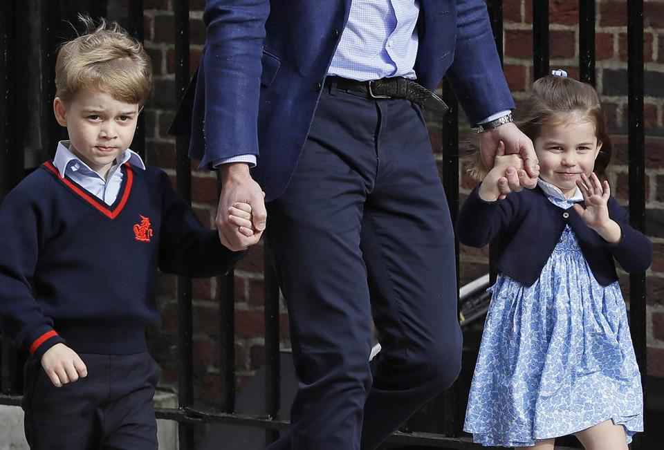 Kensington Palace said Wednesday that 4-year-old George will be a page boy and 3-year-old Charlotte will be a bridesmaid at the wedding of Prince Harry and Meghan Markle.